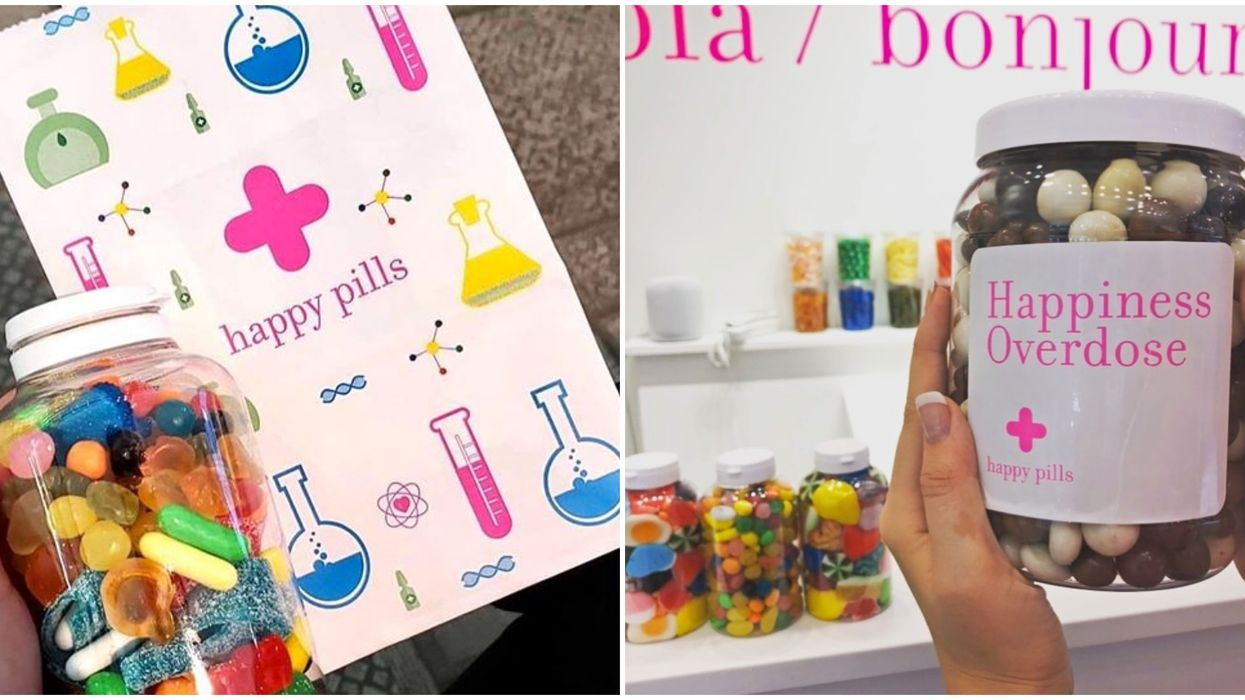 """Boutique Candy Shop """"Happy Pills"""" Just Opened Its First Canadian Location Near Montreal"""