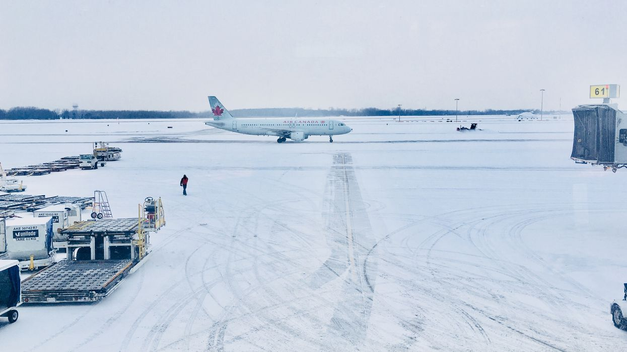 Montreal Airport Flights Could See Delays Due To Strike & Snow Storm