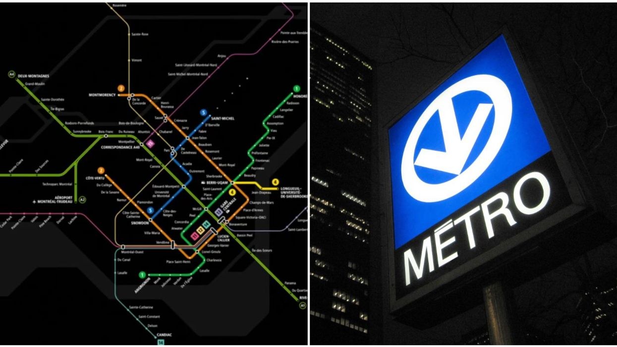 ARTM Released A Map Of What Montreal's Public Transit Network Will Look Like In The Future