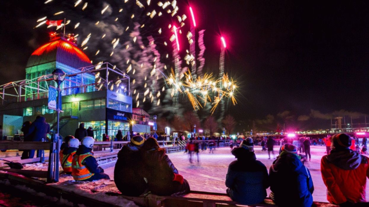 You Can Ice Skate Under A Giant Fireworks Show In The Old Port Next Month