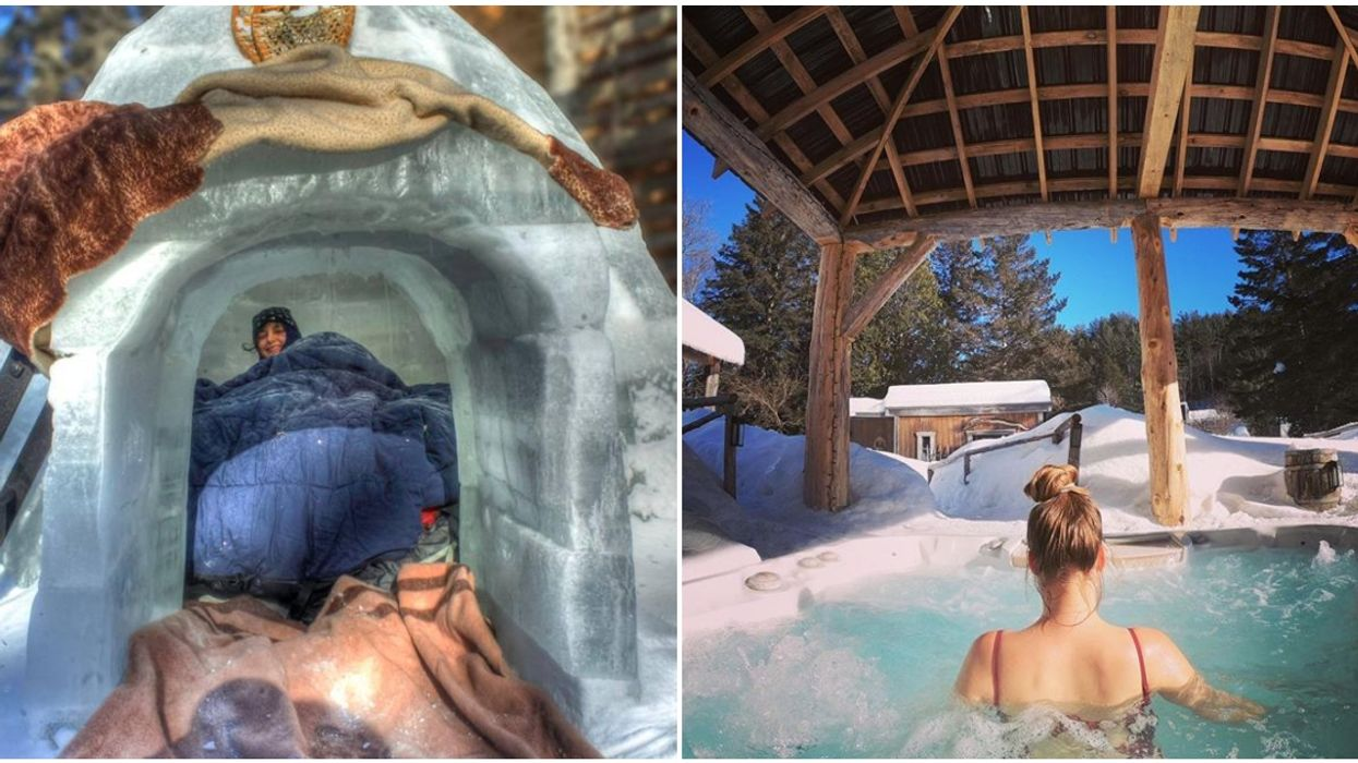 You Can Sleep In An Igloo At This Spa Less Than 2 Hours From Montreal