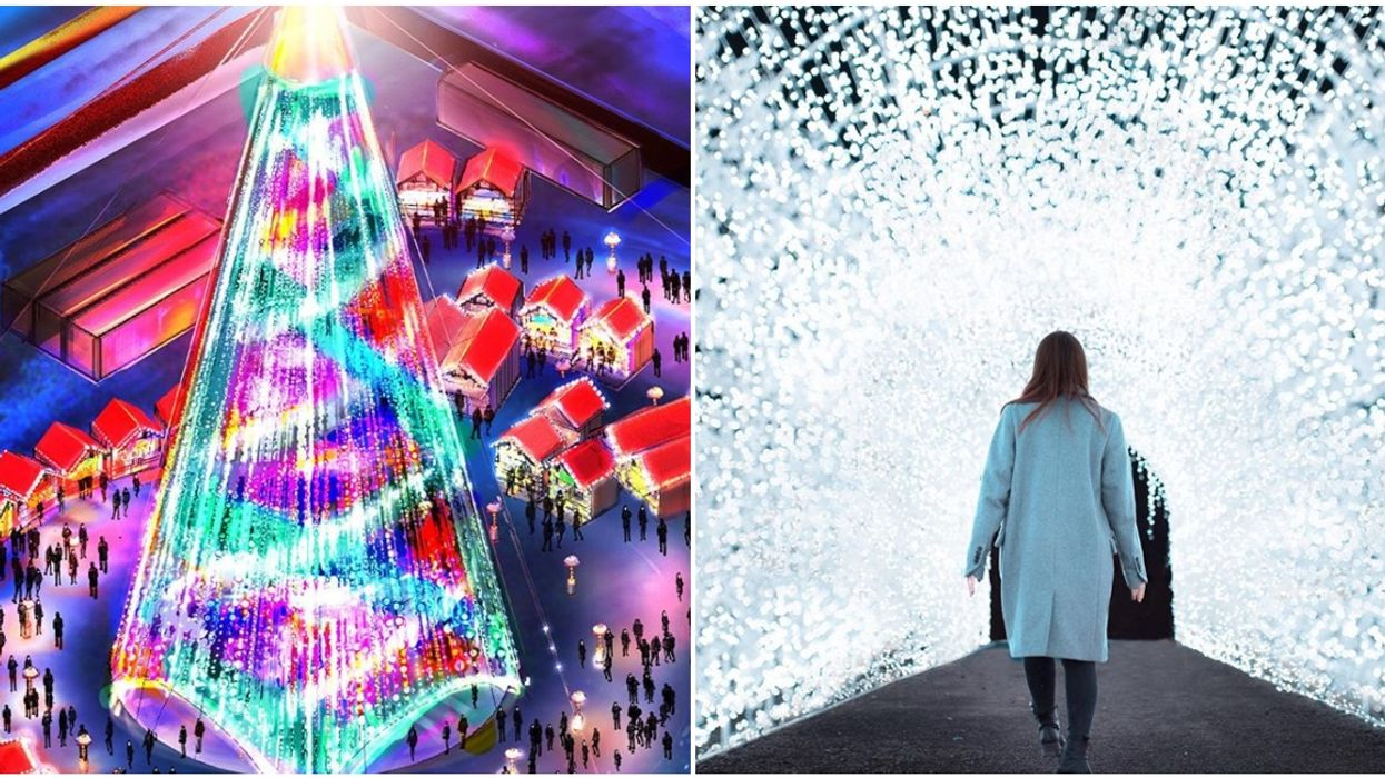 The Biggest Holiday Village Of Lights In The World Is Opening In Laval This Week