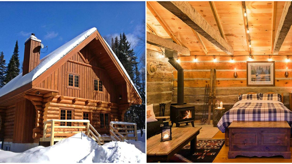 16 Chalets For A Winter Road Trip From Montreal If You're Too Broke To Fly To Switzerland