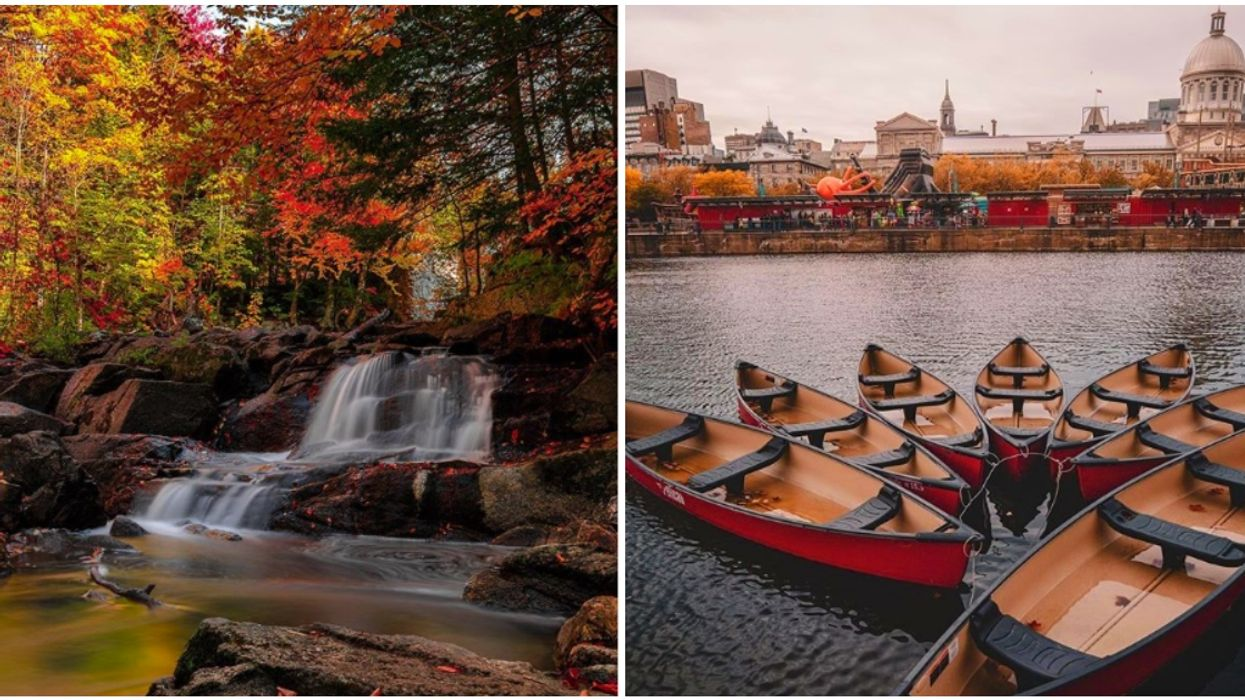Fall Foliage Is At Its Peak Across Quebec (Photos)
