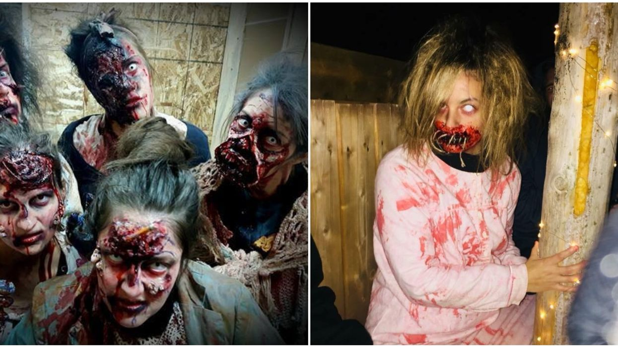 """The """"Scariest Haunted House In Canada"""" Is Near Montreal & Will Force You To Eat Bugs"""
