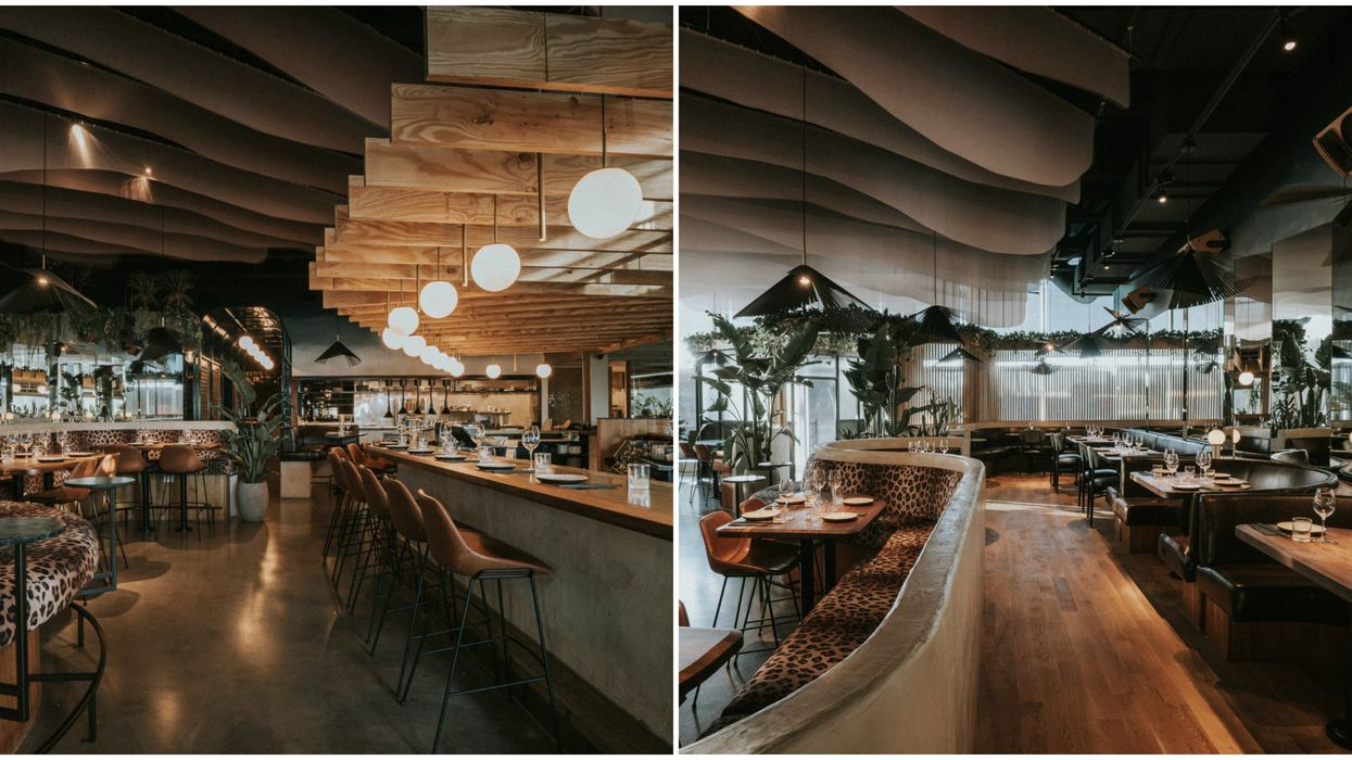 New Laval Restaurant Westwood Grill & Bar Will Make You Feel Like You're In Palm Springs