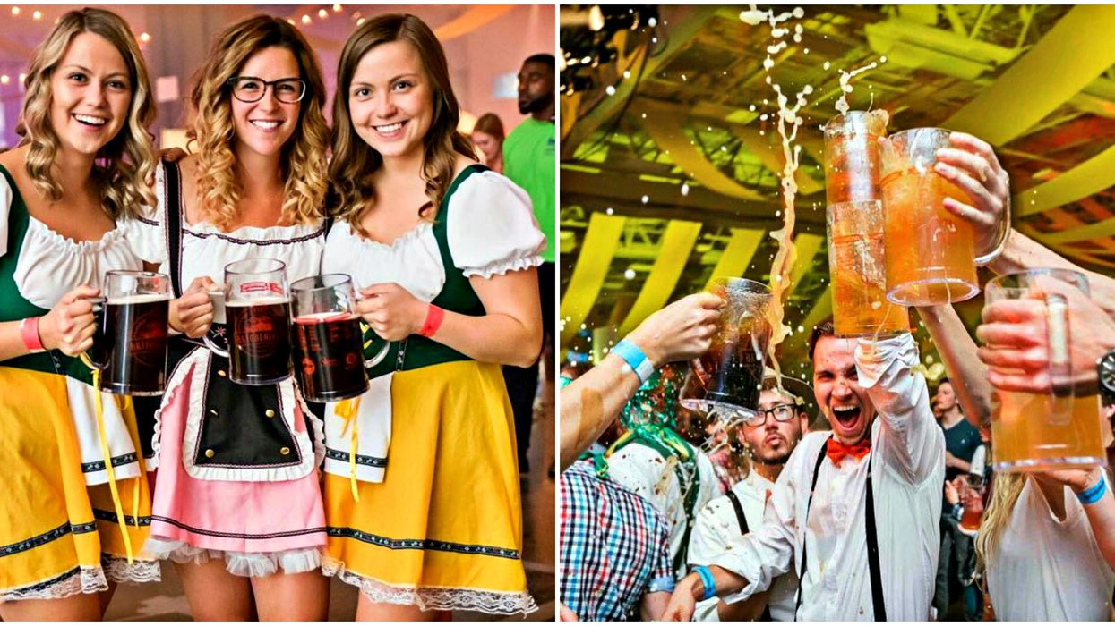Stuff Your Face With German Sausages & Beer At These Quebec Oktoberfest Celebrations