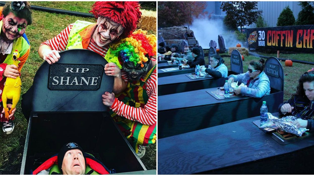 La Ronde Will Pay You $600 If You Can Stay Trapped In A Slightly Used Coffin For 30 Hours