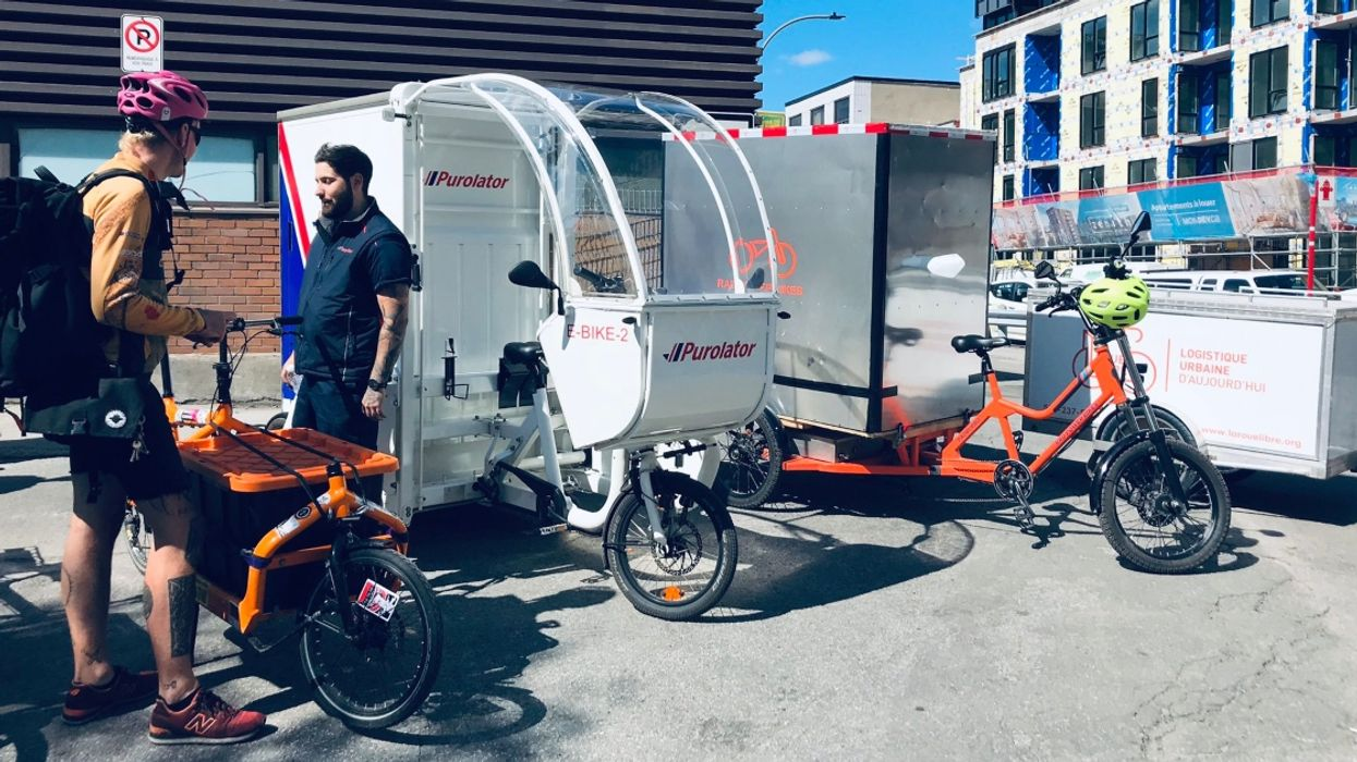 These Funny-Looking Bikes Will One Day Replace All Delivery Trucks In Downtown Montreal