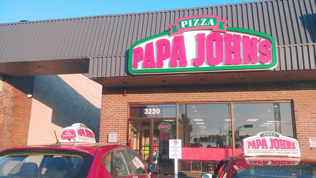 The First Papa John's Pizza In Quebec In Years Is Now Open In Laval