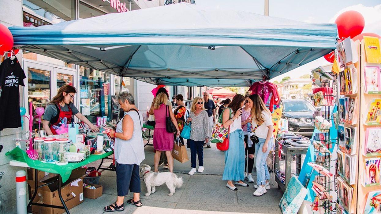 Westmount Is Hosting A Huge End Of Summer Sidewalk Sale