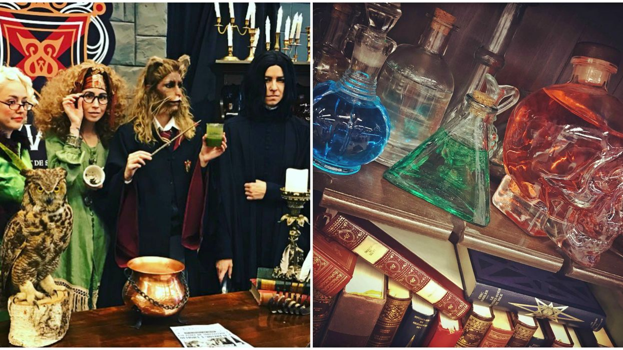 This Harry Potter-Inspired Pop-Up School Of Sorcery Is Coming To Montreal