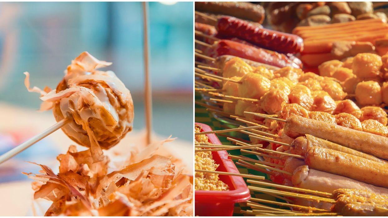 Asian street food