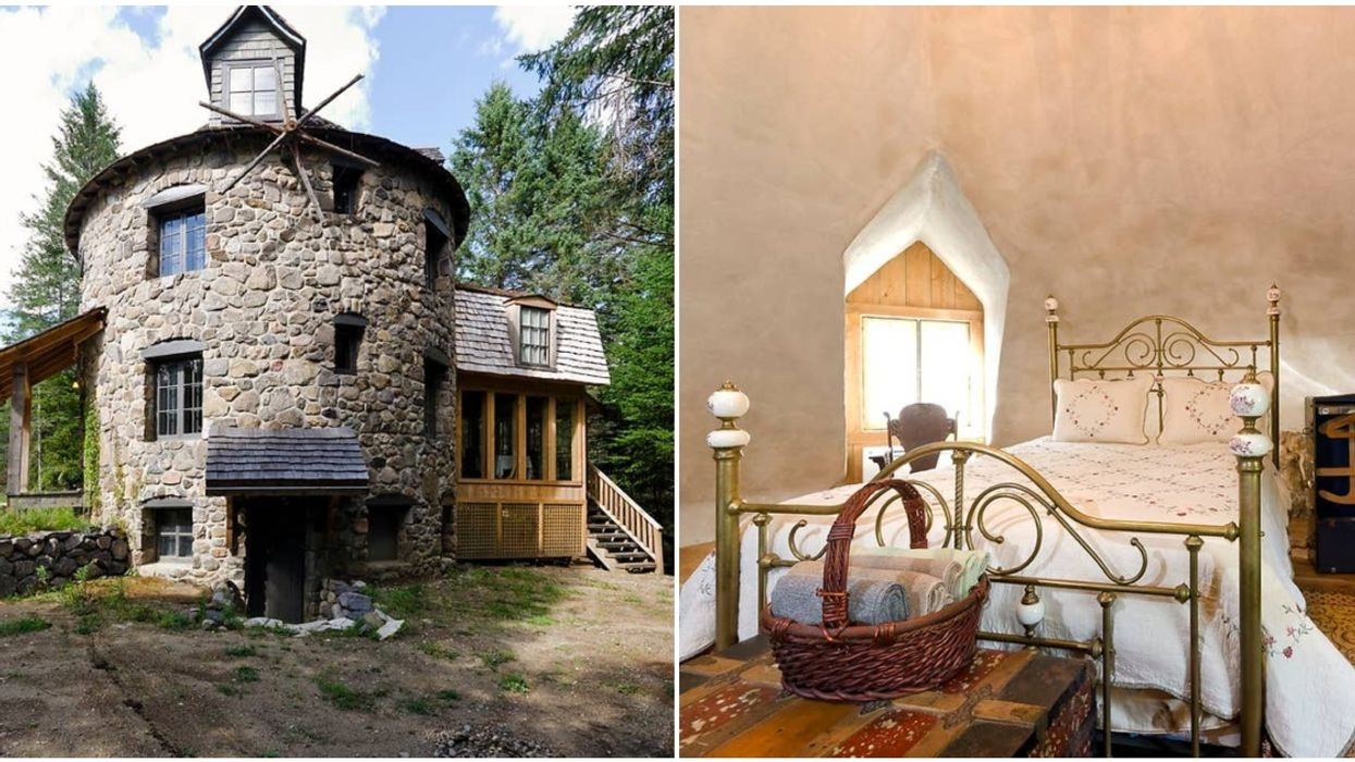 You Can Stay In This Adorable Little Windmill Cottage Airbnb In The Laurentian Mountains (Photos)