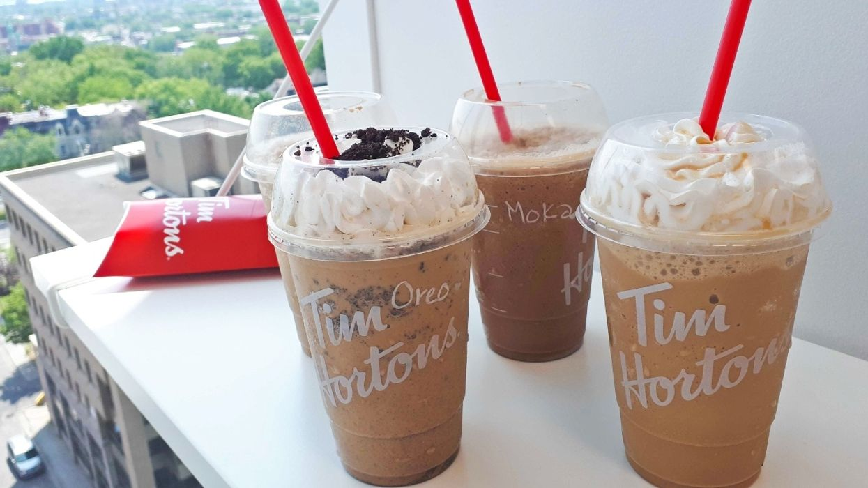 We Just Tried All 4 New Tim Hortons Iced Capps And Here's The Best One