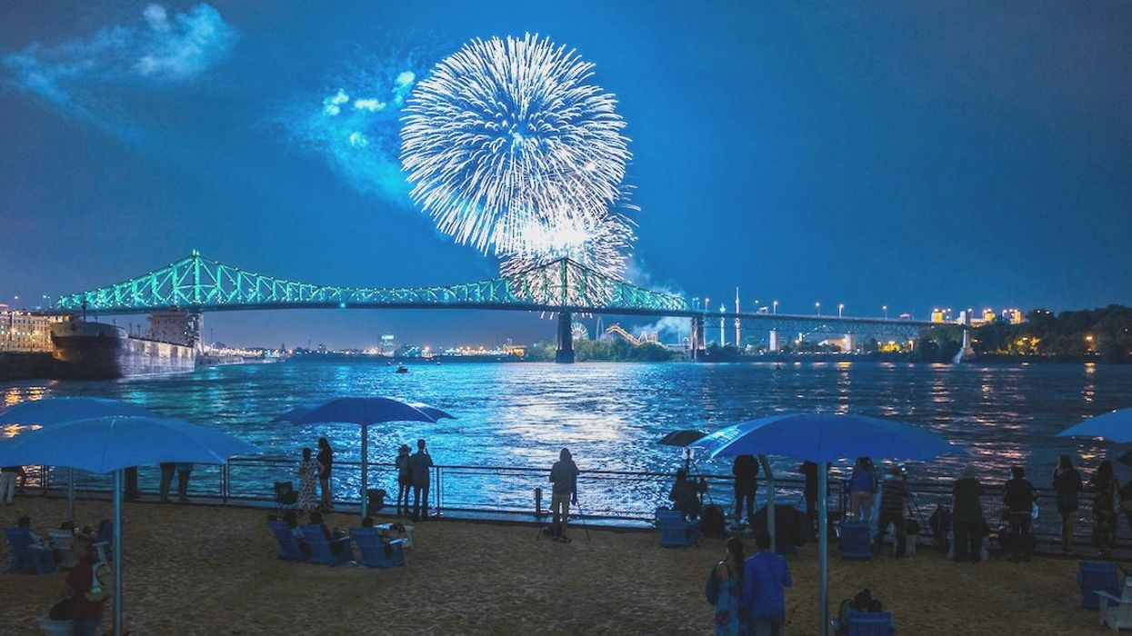 You Can Drink Under The Fireworks At A Montreal Beach Party This Weekend