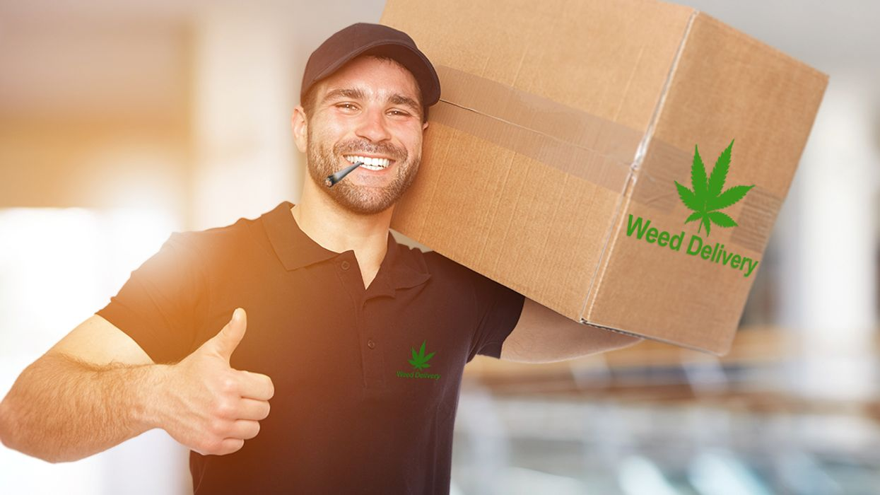 Same-Day Weed Delivery Is Coming To Canada