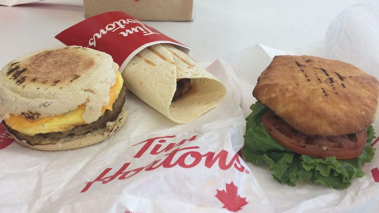 I Just Tried Tim Hortons Beyond Meat Breakfast Sandwiches, And Here's My Honest Opinion