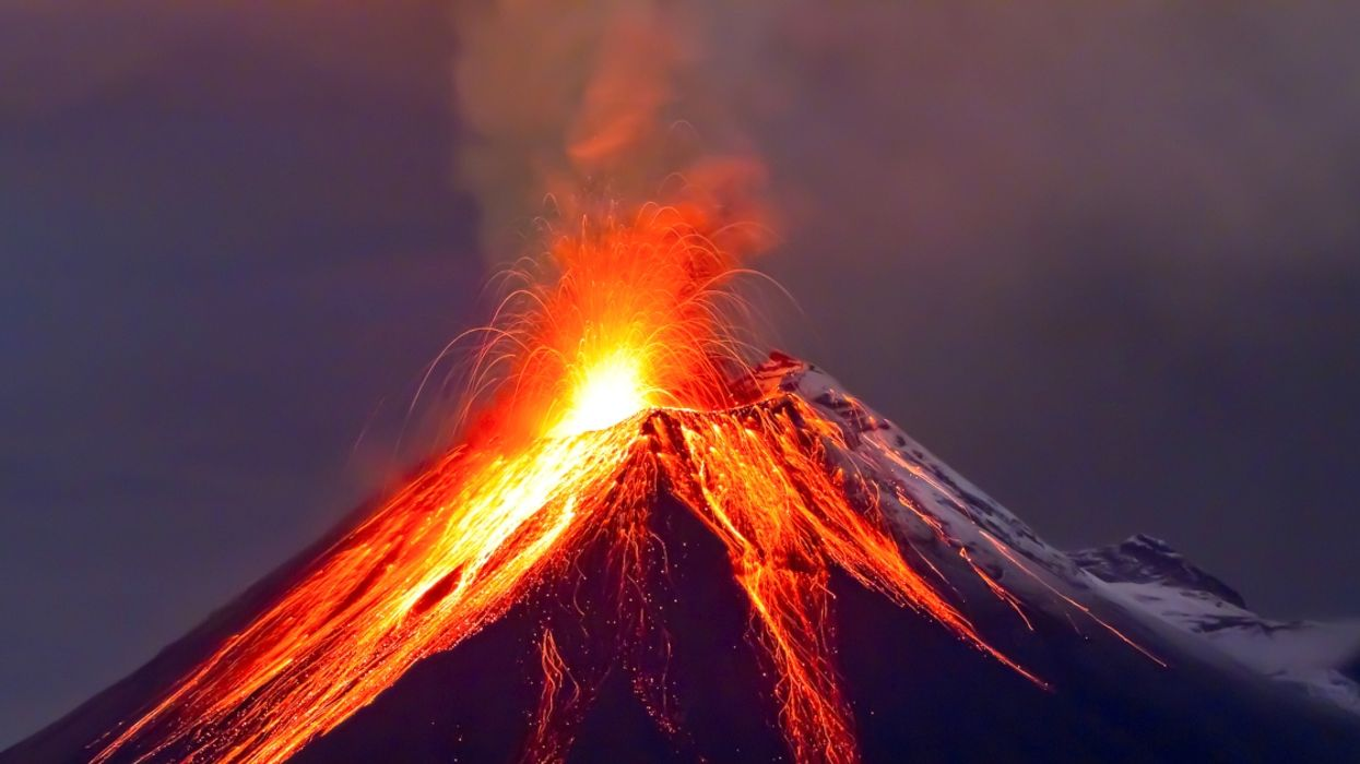 This Extinct Volcano Has Woken And Experts Say It Could Cause Catastrophic Global Impacts