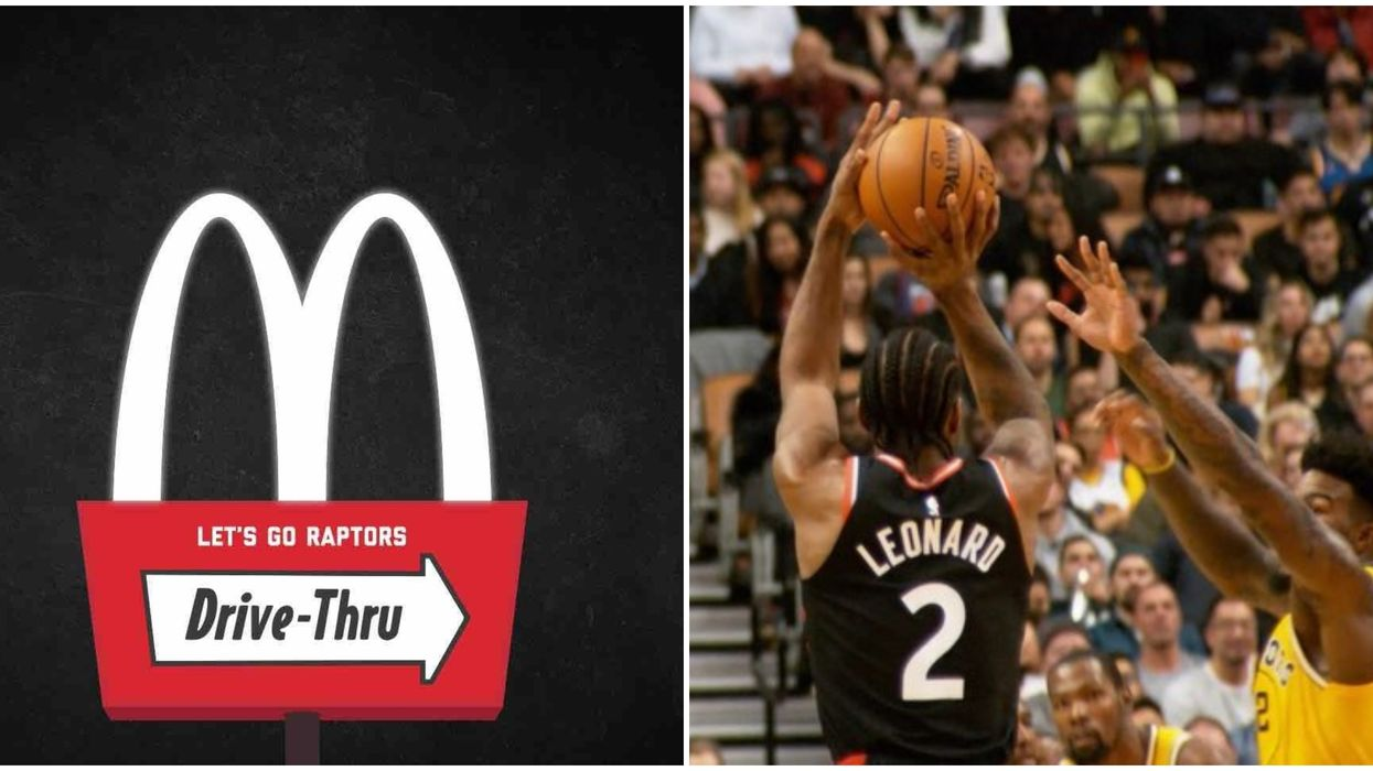 McDonald's Canada Is Losing Millions Because The Toronto Raptors Are Playing So Well