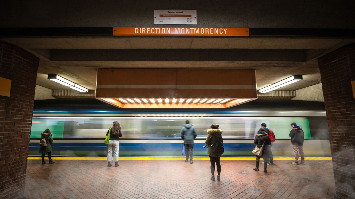 Trains On Blue And Orange Line Forced To Avoid Montreal's Jean-Talon Station, Here's Why