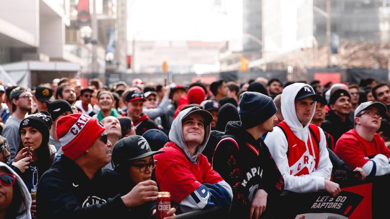 Hordes Of Extreme Toronto Raptors Fans Are Settling In Tents In The Pouring Rain Outside Jurassic Park (Video)
