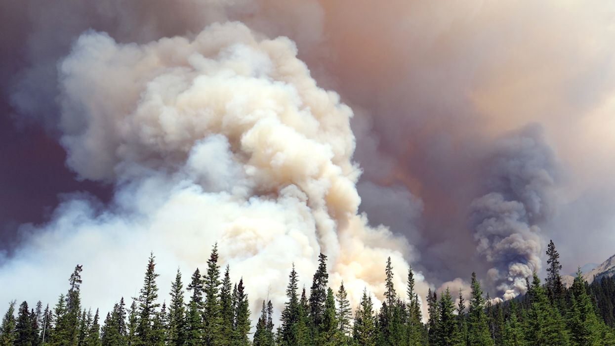 """Toxic Smoke From """"Out-Of-Control"""" Alberta Wildfires Visible Over Parts Of Quebec Today"""