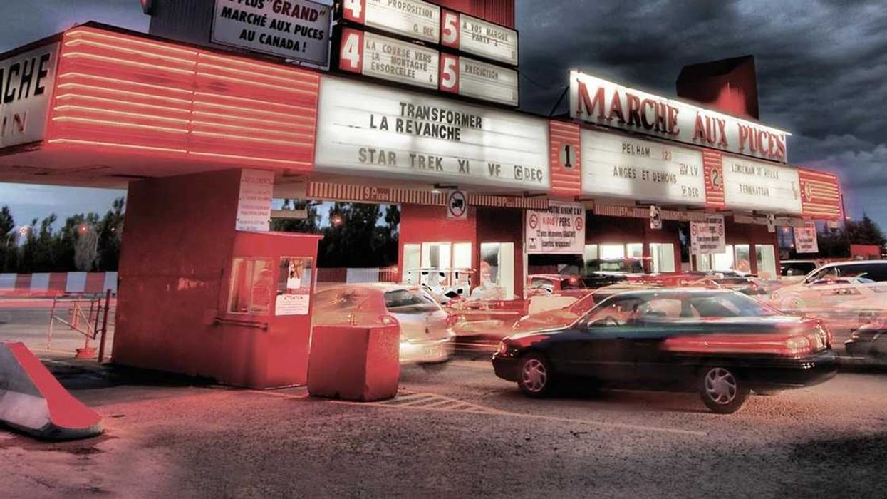 You Have To Go To This Old School Drive-In Movie Theatre 30-Minutes Outside Montreal