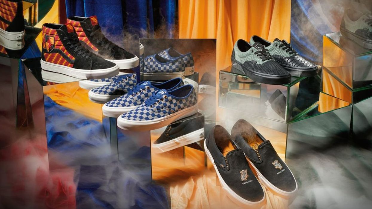 We Finally Know When Vans Is Releasing Its New Harry Potter Collection
