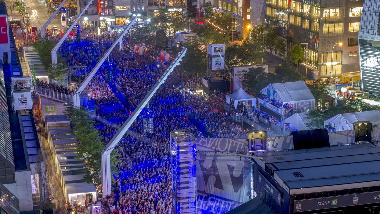 14 Free Montreal Jazz Festival Outdoor Shows You Can Attend