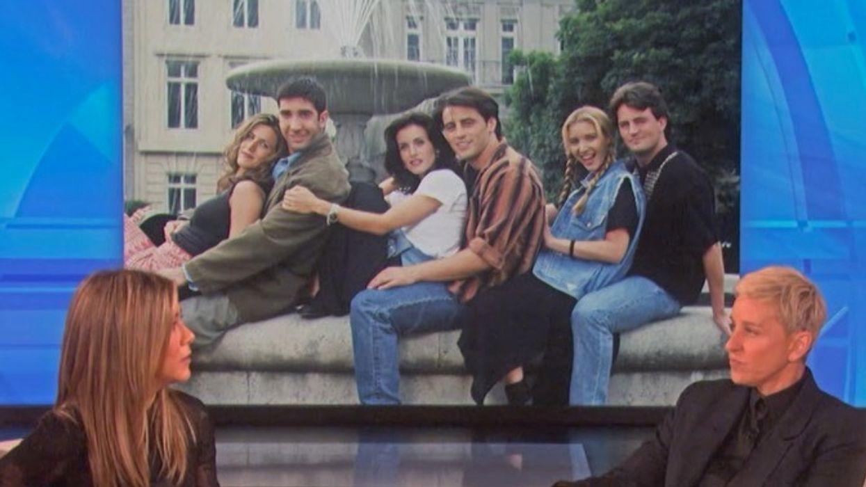 Jennifer Aniston Implies On Ellen That A FRIENDS Reunion Might Actually Happen