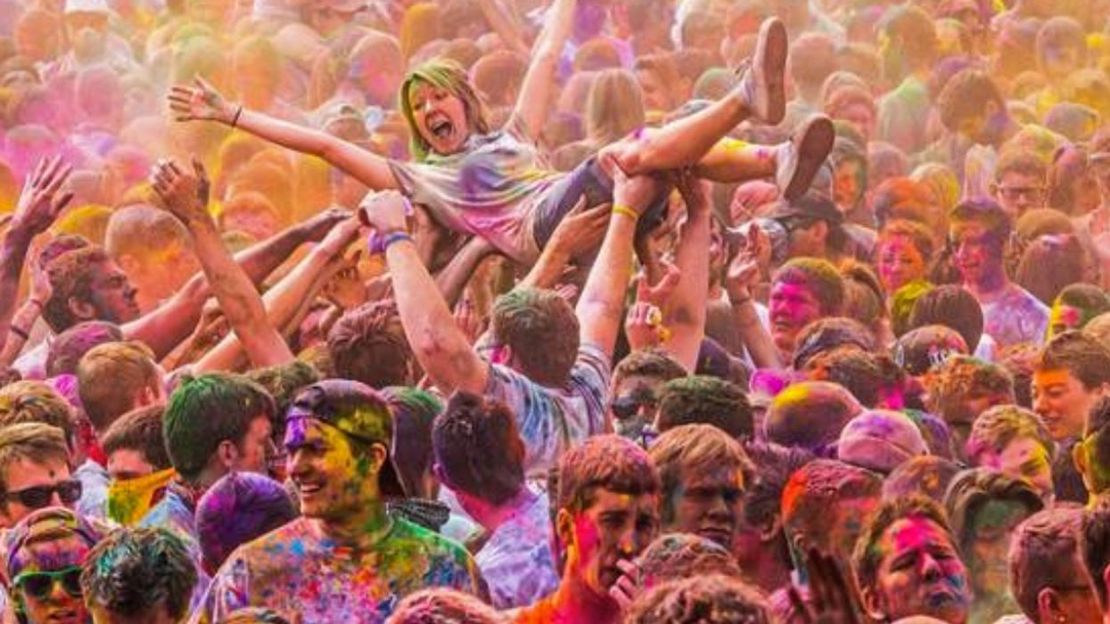 The Holi Festival Of Colours Is Coming To Montreal This Summer