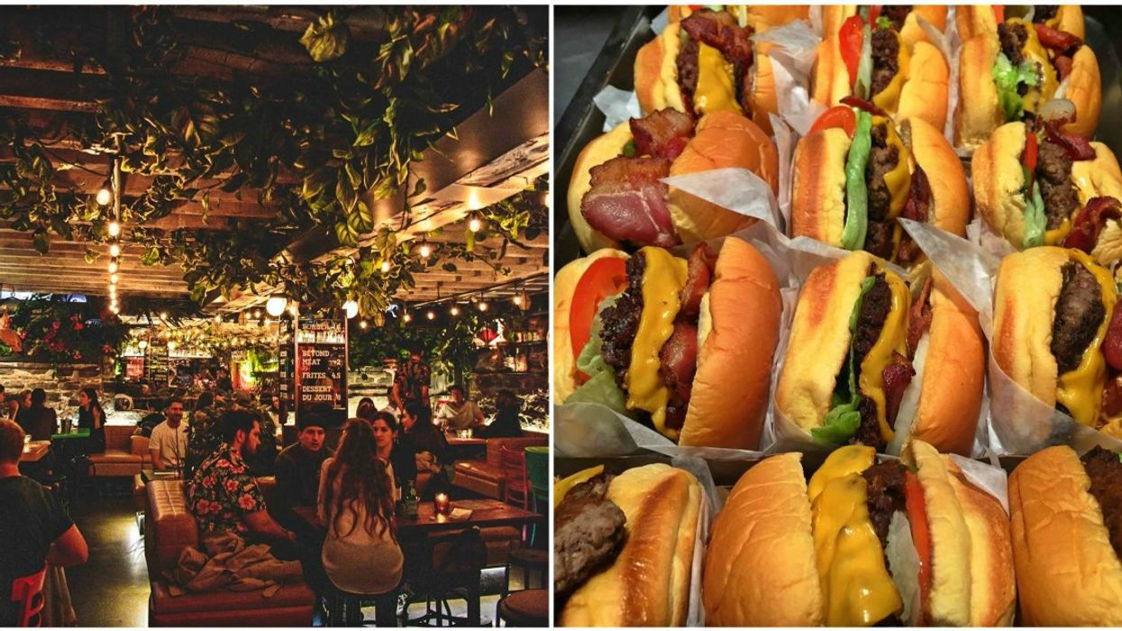 All-New 'Burger & Wine Bar' In Montreal Serves 'Beyond Meat' Burgers