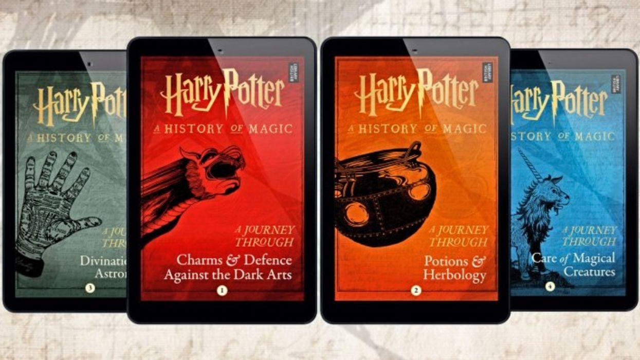 J.K. Rowling Releasing 4 All-New 'Harry Potter' Books