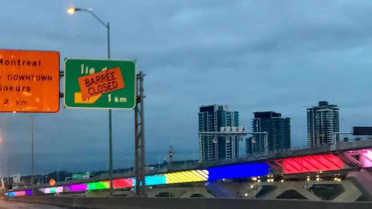 Montreal's New Champlain Bridge Lights Up And People Can't Stop Making Fun Of It (Video)