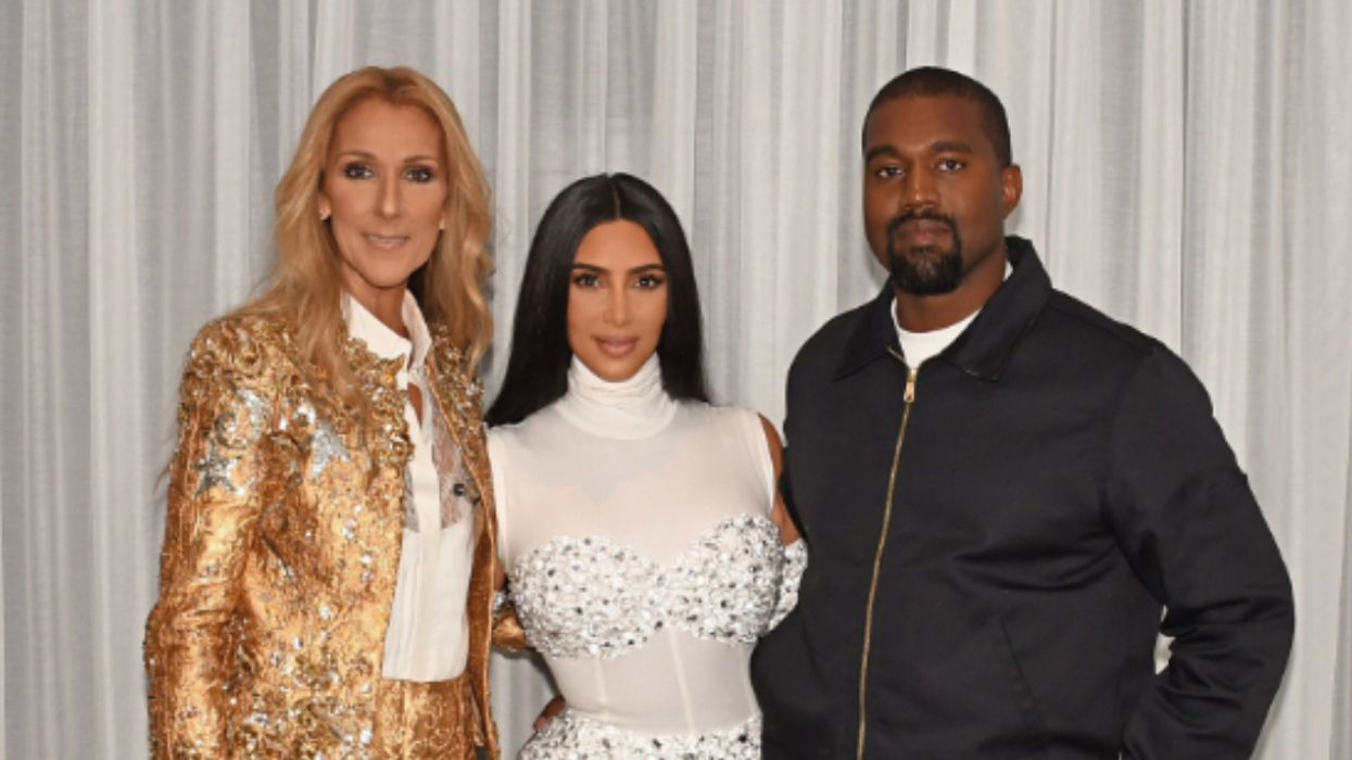 Céline Dion's Shoe In Photo With Kim Kardashian Has Fans Very Confused