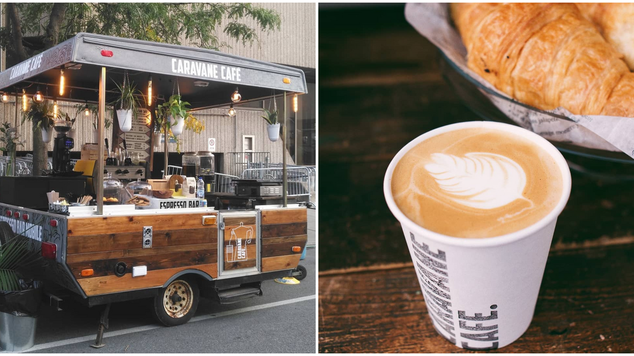 This Espresso Bar On Wheels Is Montreal's Cutest Mobile Café