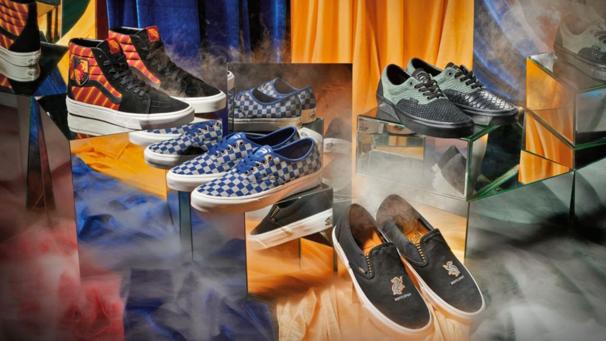 Vans Unveils Their Totally Magical Harry Potter Collection (Photos)