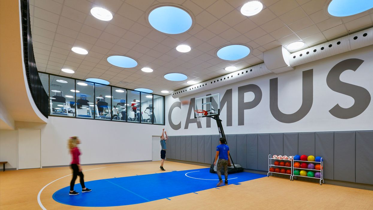 This Student Residence In Montreal Actually Has Its Own Indoor Basketball Court