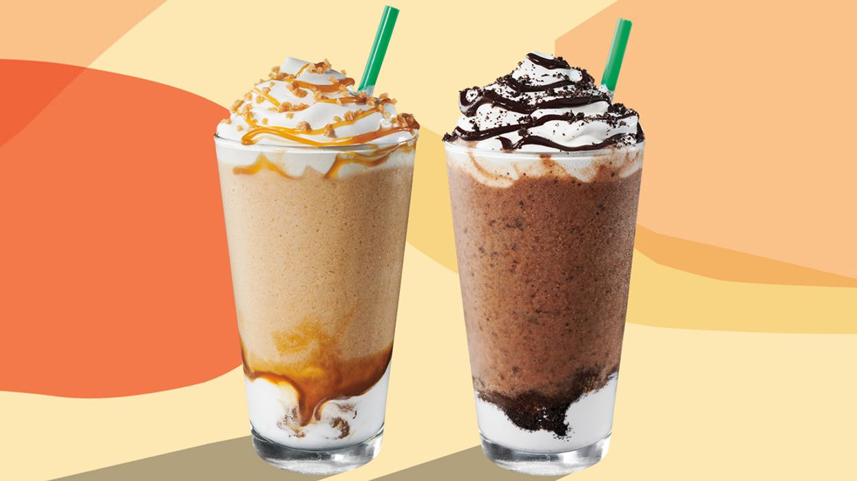 """Starbucks Is Having A Buy-One-Get-One FREE """"Frappuccino Happy Hour"""" Today"""