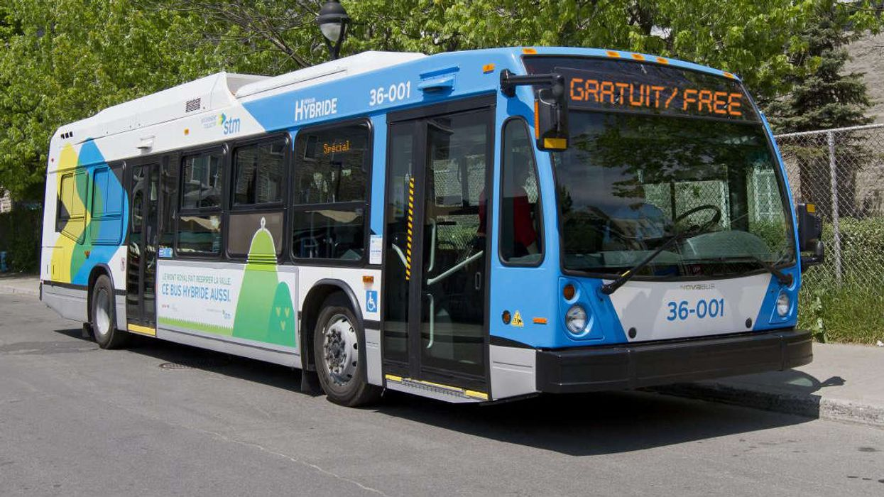 4 Montreal STM Shuttle Buses Will Be Free To Ride This Weekend