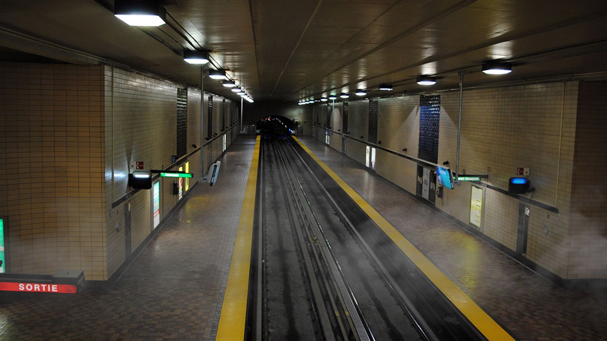 Montreal's Entire STM Green Metro Line Is Shut Down Due To The Presence Of Smoke