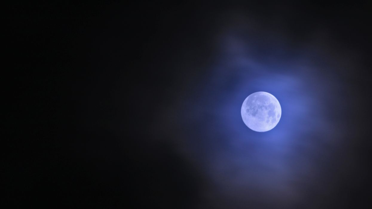 A Rare Blue Moon Will Be Seen Over Canada This Weekend
