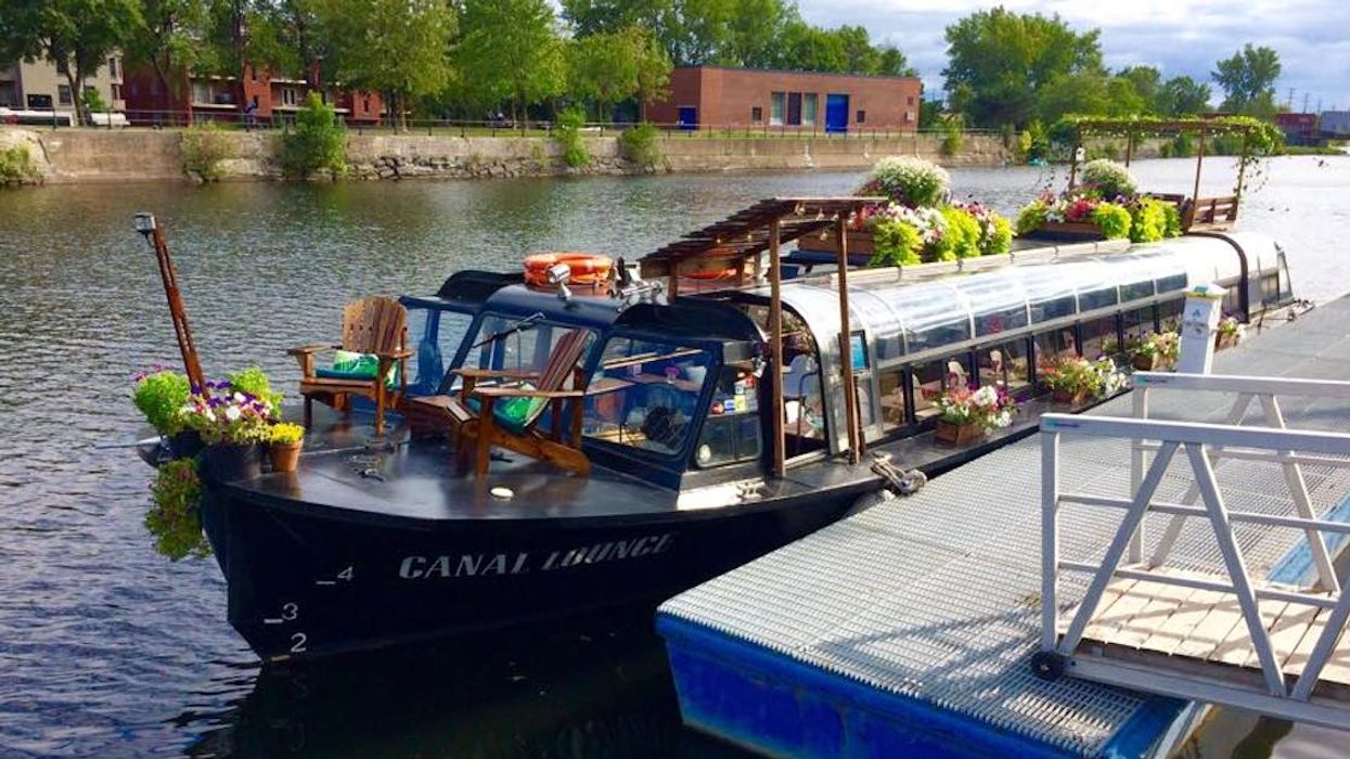 A Floating Bar Is Now In Montreal For The Summer