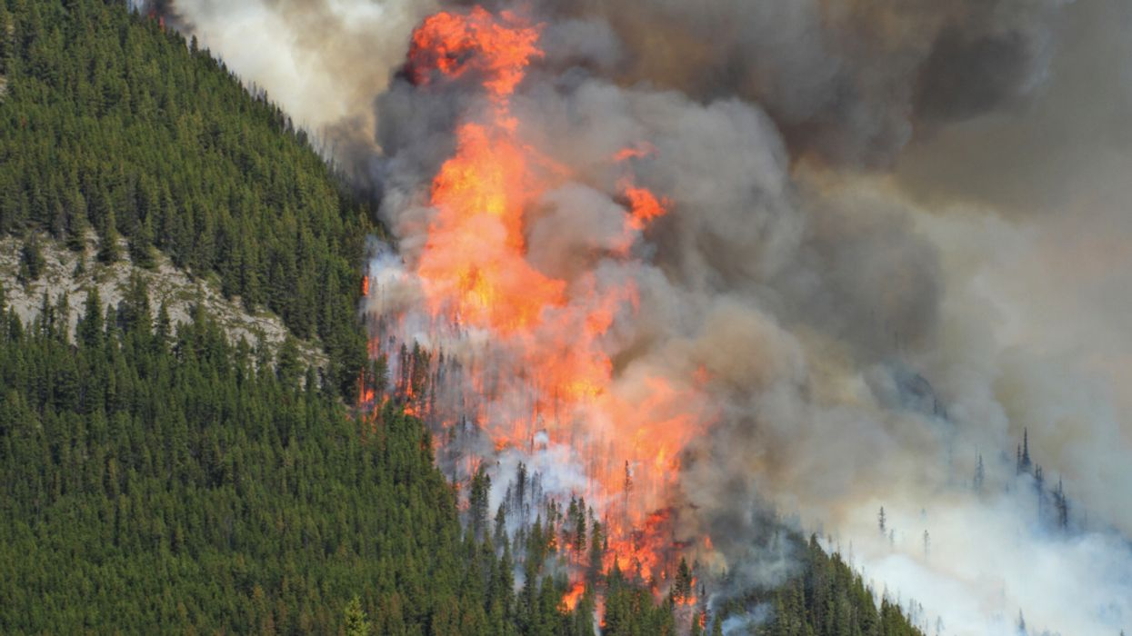 """""""Out-Of-Control"""" Wildfires Already Raging In Canada As Government Warns Of """"Extreme"""" Risk In Several Provinces"""