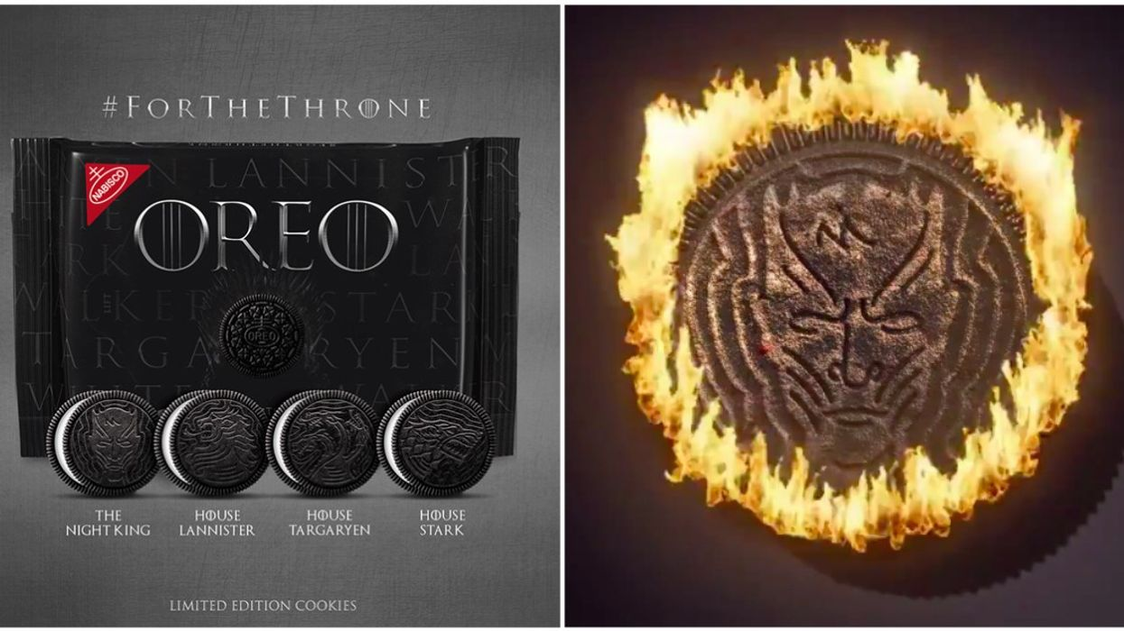 You Can Now Buy Game Of Thrones Oreos Across Canada