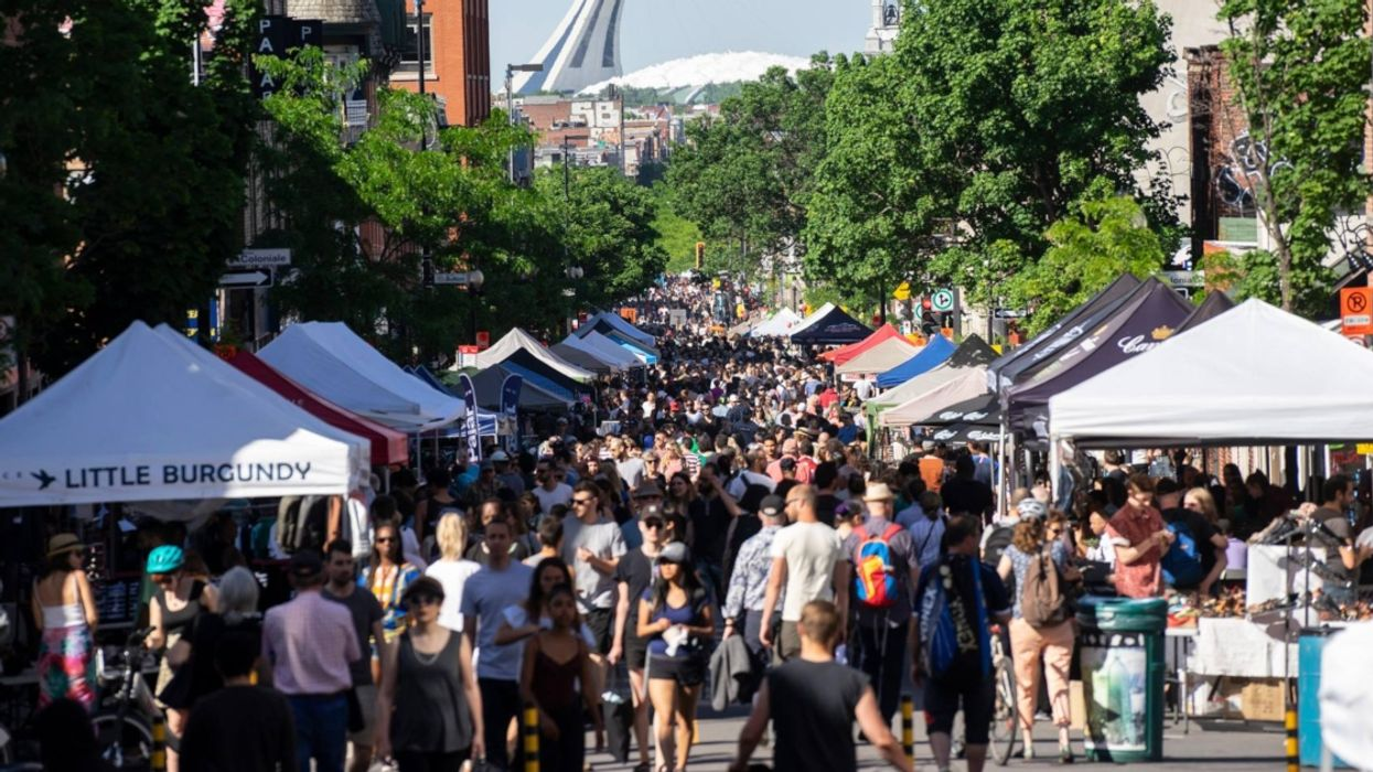 Montreal Is Closing Off Mont-Royal Avenue For A Massive Sidewalk Sale