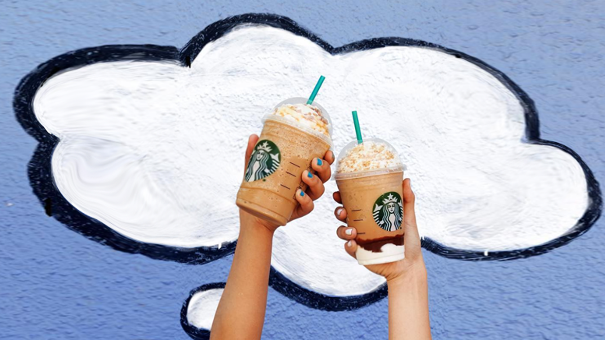 You Can Get 50% Off A Starbucks Frappuccino Today Across Canada