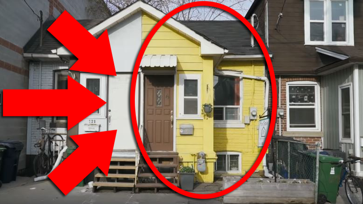This Tiny Half-House In Toronto Is On Sale Right Now For Half A Million Dollars