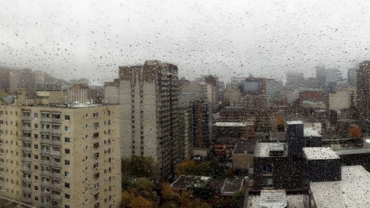 It's Going To Be Cold And Rainy All Week In Montreal